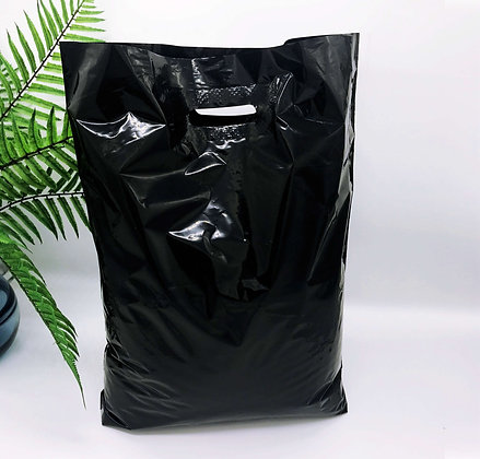 "Пакет ""Банан"", 40х50 см, 50 мкм, ПВД, черный"