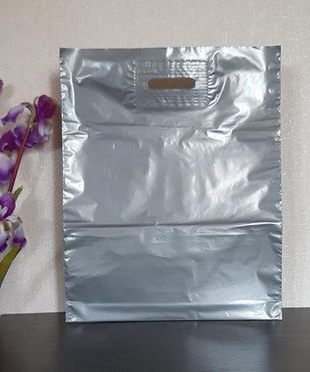 """Пакет """"Банан"""", 40х50 см, 50 мкм, ПВД, серебро"""