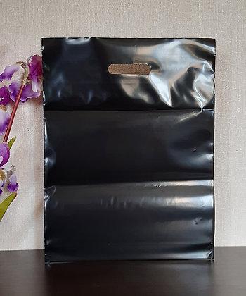 """Пакет """"Банан"""", 35х45 см, 100 мкм, ПВД, чёрный"""