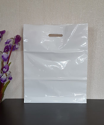 "Пакет ""Банан"", 40х50 см, 50 мкм, ПВД, белый"