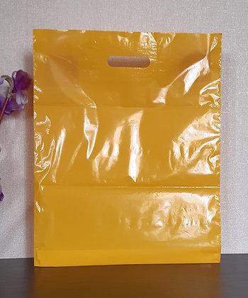 "Пакет ""Банан"", 40х50 см, 50 мкм, ПВД, жёлтый"