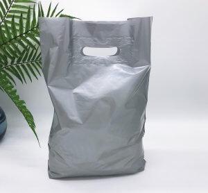 """Пакет """"Банан"""", 30х40 см, 50 мкм, ПВД, серебро"""