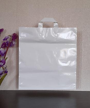 """Пакет """"Петля"""", 40х43 см, 100 мкм, ПВД, белый"""