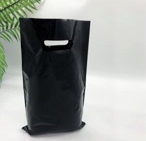 "Пакет ""Банан"", 20х30 см, 50 мкм, ПВД, черный"
