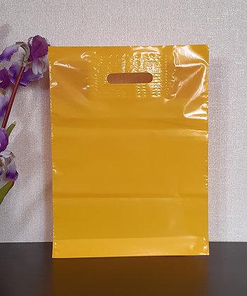 "Пакет ""Банан"", 30х40 см, 50 мкм, ПВД, желтый"