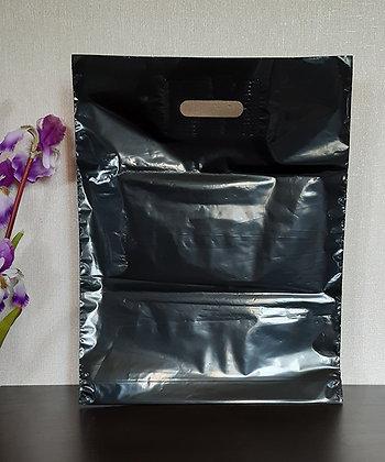 """Пакет """"Банан"""", 40х50 см, 50 мкм, ПВД, чёрный"""