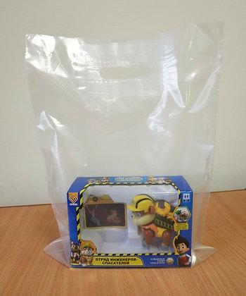 "Пакет ""Банан"", 40х50 см, 60 мкм, ПВД, прозрачный"