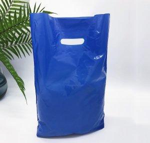 """Пакет """"Банан"""", 30х40 см, 50 мкм, ПВД, синий"""