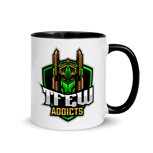 TFEW Addicts - Mug with Color Inside