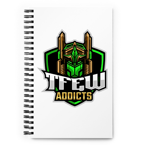 TFEW Addicts - Spiral notebook