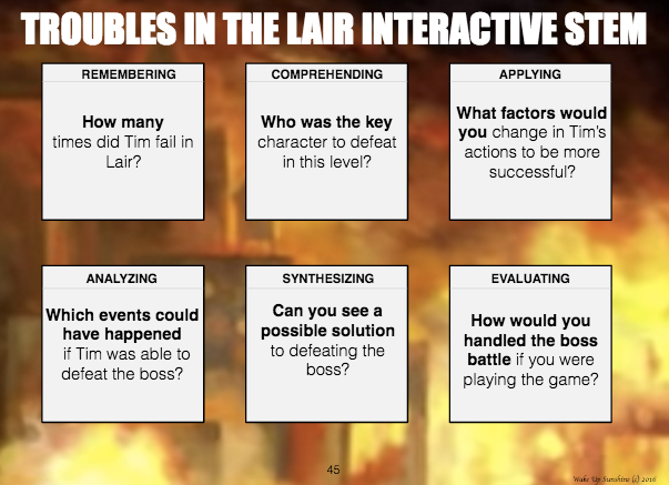 Interactive STEM Questions