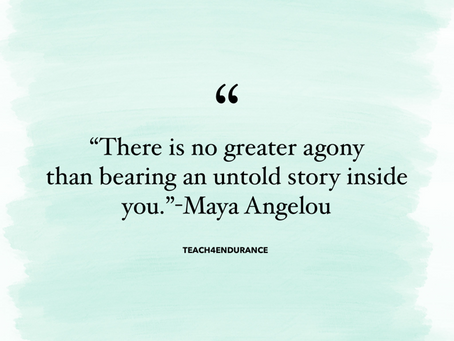 Let Your Story Be Told