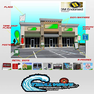Update your store front!  We are one of