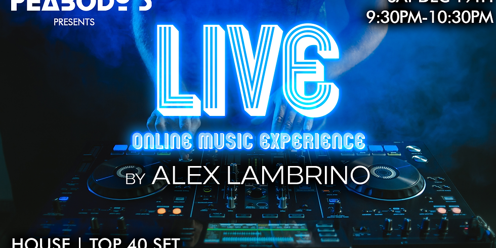 Alex Lambrino presents - LIVE