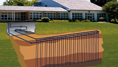 geothermal system company VA
