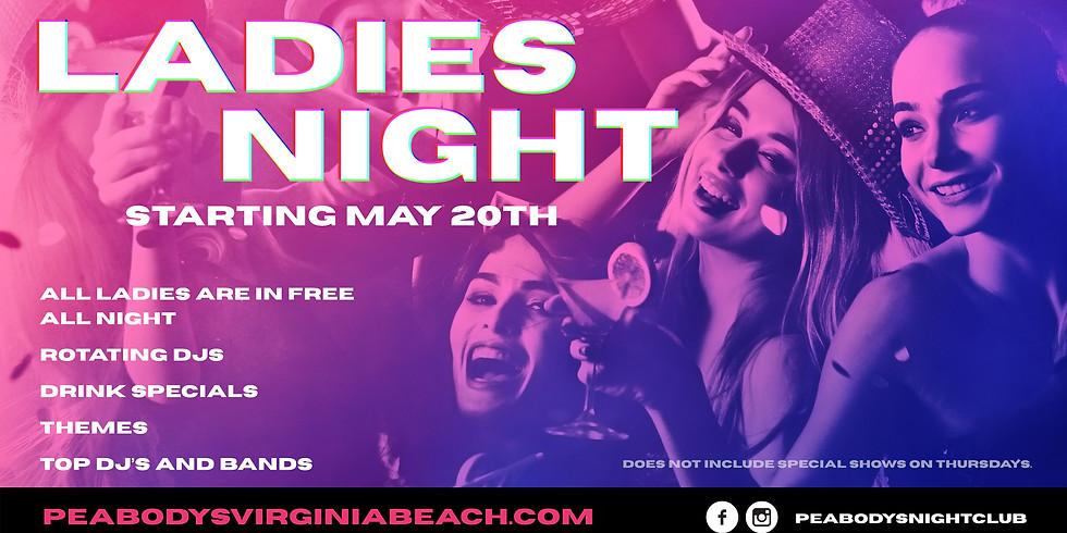 Ladies Night with DJ SDOT