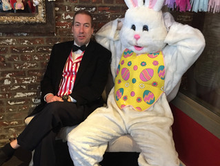 The Easter Bunny & The Ice Cream Man