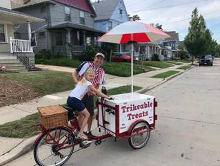 Thanks to Cheryl for the Neighborhood Ice Cream Social.