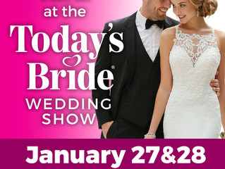 Our First Bridal Show, Yippee!