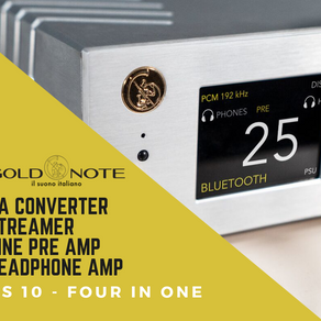 Review: Gold Note DS-10 The Chameleon DAC