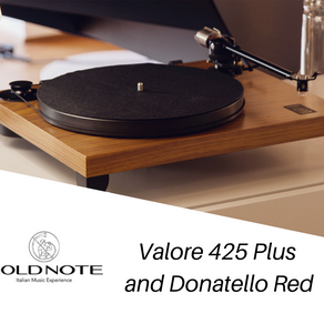 Review: Gold Note Turntable Valore 425 Plus and Donatello Red cartridge