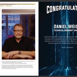 Daniel Weiss Technical Grammy Award