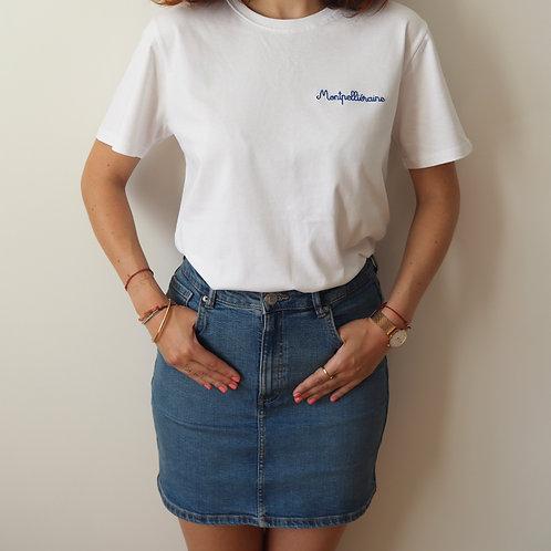 Le T-shirt brodé Montpelliéraine