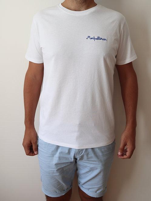 Le T-shirt brodé Montpelliérain