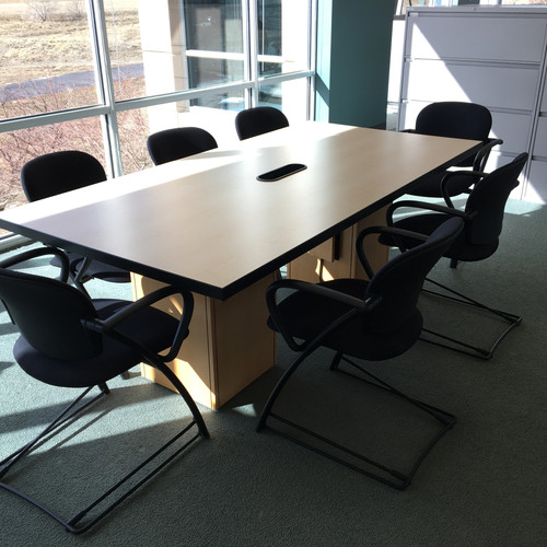 Used Tables Petes Panels Deliver Or Ship - 7 ft conference table