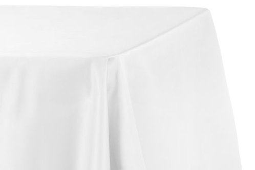 White Polyester Banquet Linen