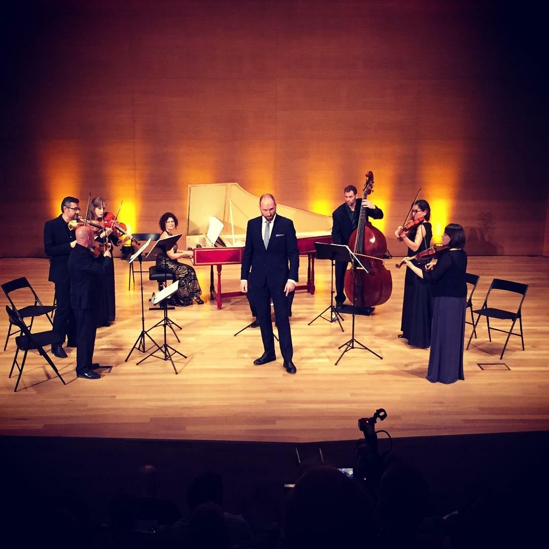 With Orquesta Barroca de Alicante