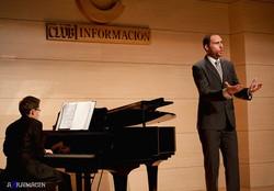 Recital in Alicante (Spain) 2011