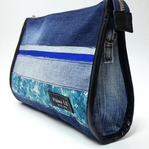 Teardrop shaped shoulder bag M