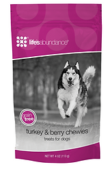 Life's Abundance Turkey & Berry Treats