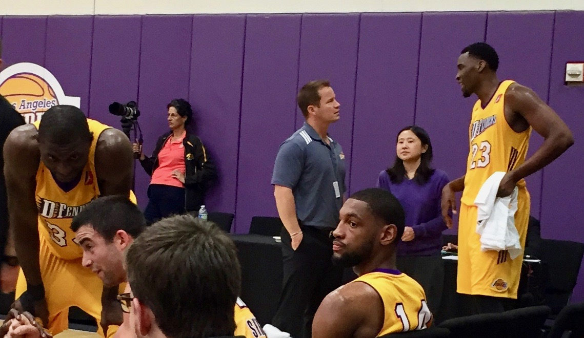 Team Physician for L.A. D-Fenders