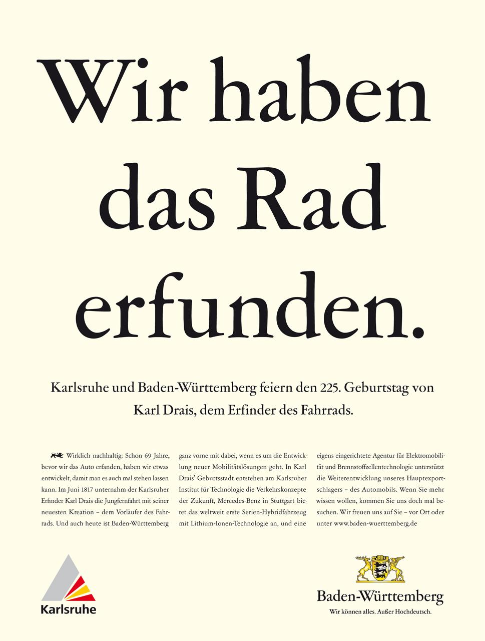 Baden-Württemberg - Standortkampagne