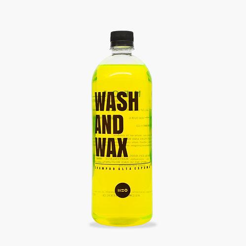 WASH & WAX SHAMPOO