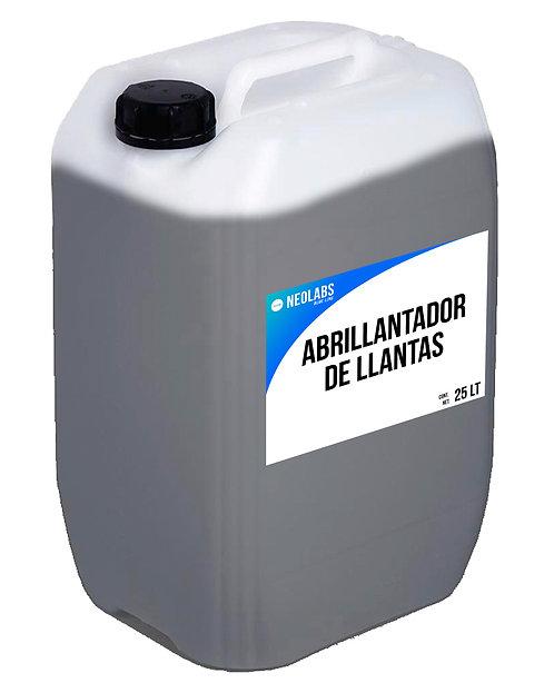 ABRILLANTADOR DE LLANTAS CONCENTRADO (25L)