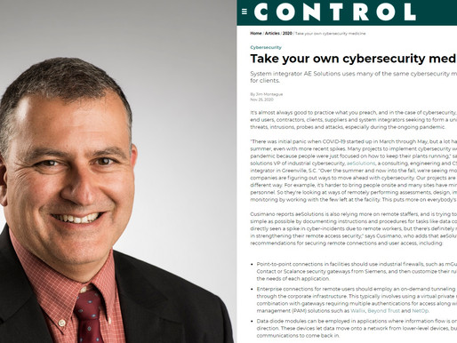 Take your own cybersecurity medicine