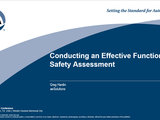 How About a Stage Zero Functional Safety Assessment (FSA)?