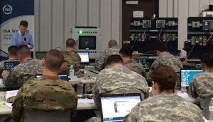 aeSolutions' Kenneth Frische leading ISA/IEC 62443-based Cybersecurity Training at Camp Atterbury