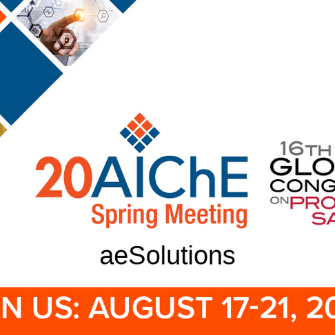 Upcoming Cybersecurity session at AIChE 2020 Spring Meeting & 16th Global Congress on Process Safety