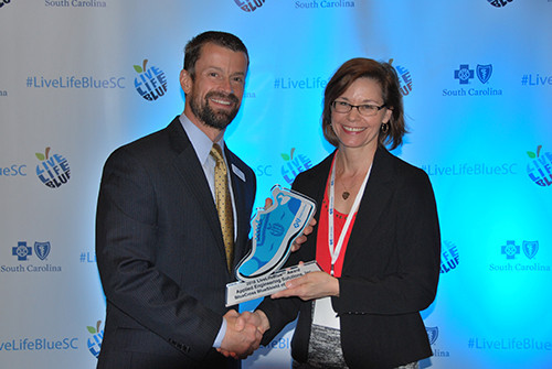 Top-Rated Workplace Wellness Program at aeSolutions Recently Recognized by BlueCross® BlueShield®