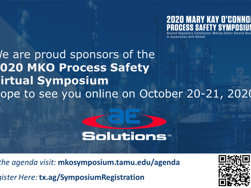 2020 Mary Kay O'Connor Process Safety Virtual Symposium