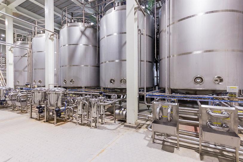 pharma manufacturing tanks
