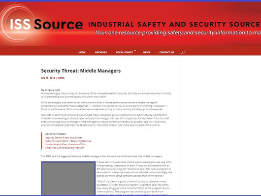 Security Threat: Middle Managers
