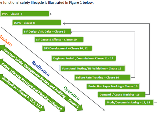 Functional Safety Organization for Predictably Executing the ANSI/ISA 84 Safety Lifecycle
