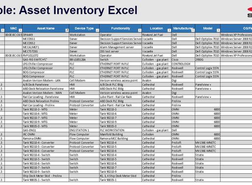 ICS Asset Inventories