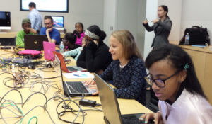 "TechGirls shows girls that there is more to tech careers than ""just coding."""