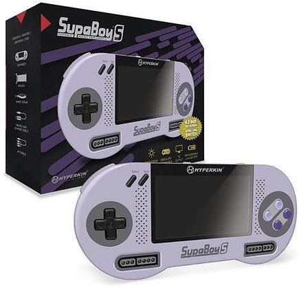 Hyperkin SupaBoy S Portable Pocket Console for SNES (in box)